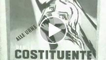 Notiziario Nuova Luce, n. 10.  Sguardo al concorso per manifesti della Costituente (1946)