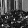 La conferenza di cultura fascista tenuta da Giovanni Gentile nella sala Borromini