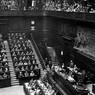 Seduta dell'Assemblea Costituente: il discorso d'insediamento del presidente Saragat