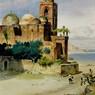 Palermo, acquerello di Carl Friedrich Heinrich Werner, conservato in una collezione privata