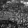 Roma. Sciopero politico per l'arresto di Aldo Giunti: manifestanti in piazza contro il governo Tambroni