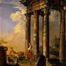 Rovine romane, dipinto di Giovanni Paolo Pannini. Galleria Nazionale d'Arte Antica, Palazzo Corsini, Roma