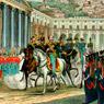 Sanesi, Napoli, 24 febbraio 1848. Piazza di S. Francesco di Paola. Giuramento della Costituzione, terzo quarto del XIX secolo, Museo Centrale del Risorgimento di Roma
