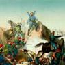Combattimento di Varese. Garibaldi alla testa dei Cacciatori delle Alpi attacca 5000 Austriaci, terzo quarto del XIX secolo, Museo Centrale del Risorgimento di Roma