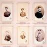 Alessandro Pavia, Album dei Mille. Pagina interna con le fotografie in formato carte de visite dei partecipanti alla spedizione, 1860-1863, Museo Centrale del Risorgimento di Roma