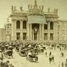 Roma, Basilica di San Giovanni in Laterano, benedizione pontificia, 1874, Museo Centrale del Risorgimento di Roma