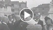 Giornale Luce A n. 208, Mussolini brucia il debito pubblico al Vittoriano, (novembre 1928)