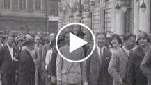 A Roma Mussolini passa in rivista i dopolavoristi triestini