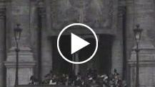 A Roma il Duce inaugura l'Accademia d'Italia