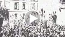 Milano ha solennizzato con severo rito celebrativo il XIV annuale di fondazione dei Fasci di combattimento. Dalla storica sala della prima riunione de...