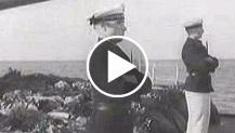 Germania. Wilhelmashaven. Gli onori militari ai caduti nella guerra di Spagna
