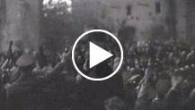 Roma. La visita di Hitler in Italia Hitler e Mussolini alla basilica di Massenzio