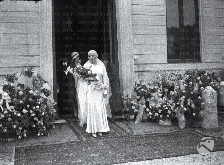 Matrimonio Di Romano Mussolini : Matrimonio ciano edda mussolini reparto foto attualità