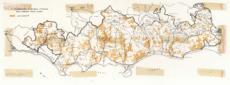 Carta geografica della Maremma Tosco-Laziale. Si l ...