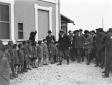 Mussolini accompagnato da Teruzzi, Acerbo e altre  ...