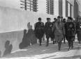 Mussolini, Starace e autorità del PNF visitano le  ...