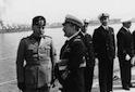 Mussolini e Cavagnari a colloquio sul po ...