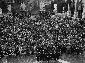 Adunata in piazza del Campidoglio in occ ...