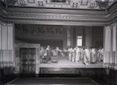 Affresco di Cesare Maccari 'Il cieco' [La parete d ...