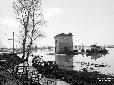 Casale Scatafassi circondato dall'acqua
