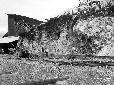 Monticchio, fronte d'attacco della roccia