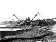 Escavatori a Casale Perazzotti, scavo canale Acque ...