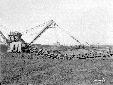 Escavatore, dettaglio della scala