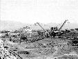 Escavatori a Ponte Marchi, scavo canale Acque Alte