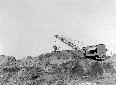 Escavatore Ruston I, scavo del canale Acque Alte f ...