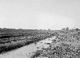 Canale Acque Alte a monte Via Appia, scavo con min ...