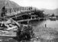 Canale Diversivo Linea- costruzione della passerel ...