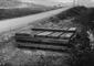 Nubifragio 17.06.1939. Catasta di traverse nuove t ...