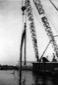 Porto-canale di Badino. A mezzo di un pontone si e ...