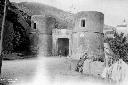 La Portella presso Monte San Biagio vista da ponen ...